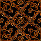 Refined Wood Decorative Background Pattern Royalty Free Stock Images