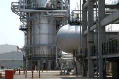 refinenery πετρελαίου αμόλυβδο Στοκ Φωτογραφία