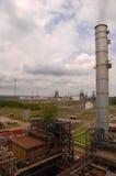 Refinería 2 de la gasolina imagenes de archivo