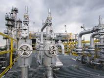 refinería Fotografía de archivo libre de regalías