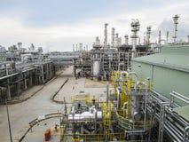 refinería Fotos de archivo