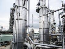 refinería Foto de archivo libre de regalías
