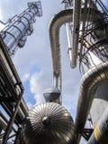 refinería Imagen de archivo libre de regalías