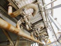 refinería Fotografía de archivo