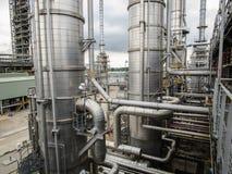 refinería Imágenes de archivo libres de regalías