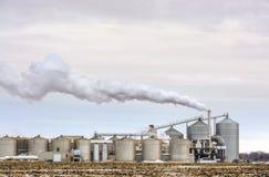 Refinería americana del etanol Imagenes de archivo