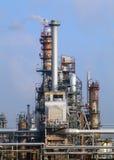 Refinería de petróleo foto de archivo libre de regalías