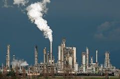 Refinería de petróleo Foto de archivo