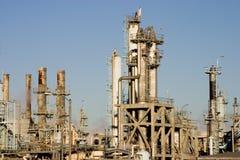 Refinería de petróleo 5 foto de archivo libre de regalías