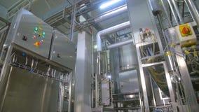 Refinería de petróleo, construcción de la tubería del combustible dentro de la fábrica de la refinería