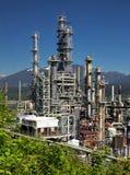 Refinería de petróleo de Vancouver Fotografía de archivo libre de regalías