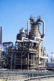 Refinería de petróleo grande en Italia Foto de archivo