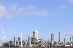Refinería del petróleo y del producto químico Imagen de archivo libre de regalías