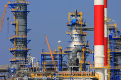 The refinery Royalty Free Stock Photo