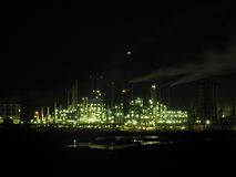Refinery royalty free stock photos