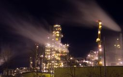 Refinery Royalty Free Stock Photo