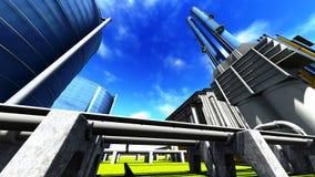Refinery Stock Photography
