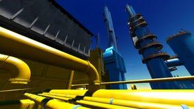 Refinery Stock Image
