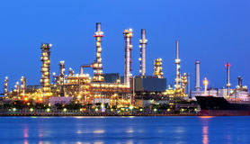 Refinery. Stock Image