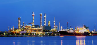 Refinery. Royalty Free Stock Photo