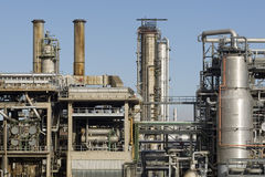 Refinery. For the supply of energy also caused climate change Royalty Free Stock Image