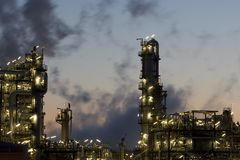 Refinery Stock Image