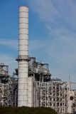 Refinery building Royalty Free Stock Photography