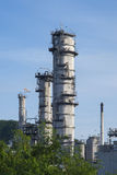 Refinery. Building in Stock Image