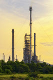 Refinery. Building in early morning Royalty Free Stock Images