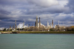 Refinery in Canada Stock Photo