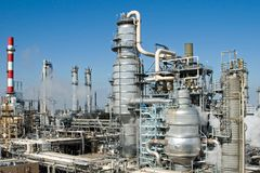 Refinery Complex Royalty Free Stock Photo