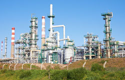 Refinery complex Stock Image