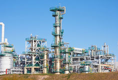 Refinery complex Stock Photos