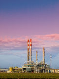 Refinery complex. Part of refinery complex ,industry Royalty Free Stock Photos