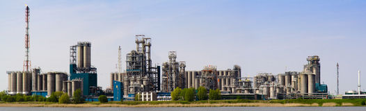 Refinery complex (Antwerp) Stock Photos