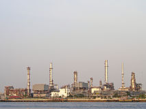 Refinery in day Stock Photo
