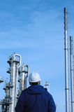 Refinery and engineering Stock Photography