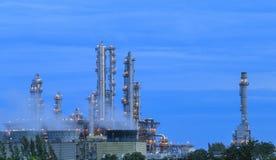 Refinery factory twilight Stock Image