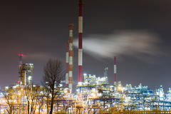 Refinery Royalty Free Stock Images