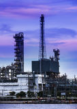 Refinery industrial plant in Bangkok Thailand. Royalty Free Stock Photo