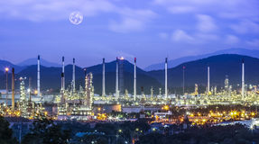Refinery industrial Stock Image