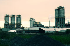 Refinery in Montreal Royalty Free Stock Photos