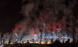 Refinery Night Royalty Free Stock Image