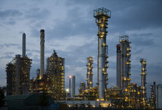 Refinery at night 8 Stock Photography