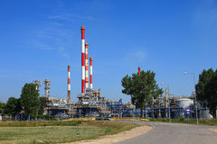 Refinery Oil Royalty Free Stock Photography