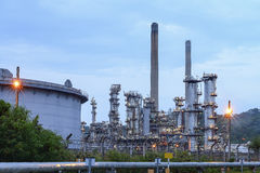 Refinery in petrochemical thailand Royalty Free Stock Photos