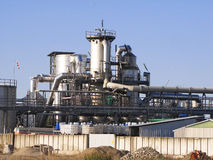 Refinery plant Royalty Free Stock Photo