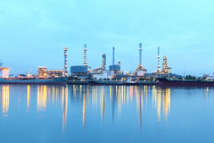 Refinery plant Royalty Free Stock Image