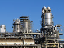 Refinery plant Royalty Free Stock Images
