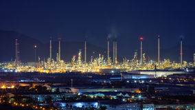 Refinery plant Royalty Free Stock Photos